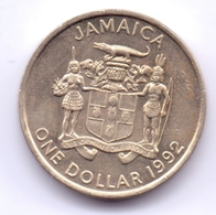 JAMAICA 1992: 1 Dollar, KM 145 - Jamaica