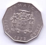 JAMAICA 1975: 50 Cents, KM 65 - Jamaica