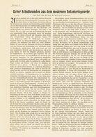 Über Schußwunden Aus Dem Modernen Infanteriegewehr / Artikel, Entnommen Aus Zeitschrift/ 1905 - Books, Magazines, Comics