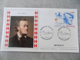 FDC Monaco 2013 : Richard Wagner (1813-1883) - FDC