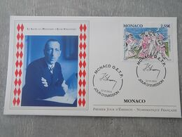 FDC Monaco 2013 : Le Sacre Du Printemps D'Igor Stravinsky - FDC