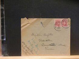 90/929 LETTRE BELGE OOSTENDE 1921 - 1915-1920 Albert I.