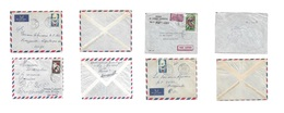 Frc - Chad. 1961-5. 4 Better Local Fkd Envelopes, Better Usages. Including Village Usages: Franga, Fort Archmmbault, For - Frankreich (alte Kolonien Und Herrschaften)