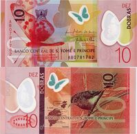 SAINT THOMAS & PRINCE      10 Dobras       P-71       21.10.2016 (2018)        UNC - Sao Tome En Principe