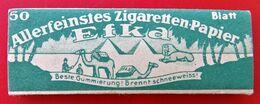 COLLECTION  Carnet De Feuilles A Cigarettes EFKA PYRAMIDEN WW2 - Zigarettenzubehör