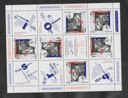 """FRANCE / 2020 / Y&T N° 5406 En Bloc **  Ou F5406  : """"Boris Vian"""" 1.16 € (Feuillet De 6 TP Avec Vignettes) X 1 - Mint/Hinged"""