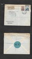 Portugal-Cabo Verde. 1948 (3 April) Mindelo - UK, London. Registered Multifkd Env Incl Ceres New Design. - Portugal
