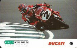 Italia, Infostrada Sponsor Ufficiale, Ducati Corse Sette Volte Campione Del Mondo SBK, Valore Nominale 5.000 Lire. - Italia