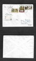 Portugal-Timor. 1972 (10 Nov) GPO Dili - Germany, Mainy. Registered Mulifkd Envelope, Maritime Route. - Portogallo
