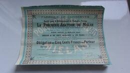 LA PORCHERIE Abattoir De Miélan (gers) - Unclassified