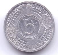 NETHERLAND ANTILLAS 2014: 5 Cent, KM 33 - Antillas Nerlandesas