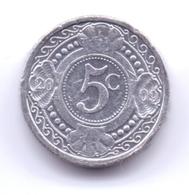 NETHERLAND ANTILLAS 2009: 5 Cent, KM 33 - Antillas Nerlandesas