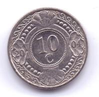 NETHERLAND ANTILLAS 2004: 10 Cent, KM 34 - Antillas Nerlandesas