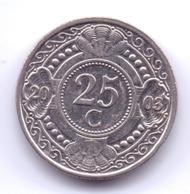 NETHERLAND ANTILLAS 2003: 25 Cent, KM 35 - Antillas Nerlandesas
