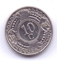 NETHERLAND ANTILLAS 1993: 10 Cent, KM 34 - Antillas Nerlandesas
