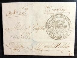 1813 SENIGALLIA PER MONTALBODDO - 1. ...-1850 Prefilatelia