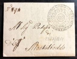 1811 SENIGALLIA PER MONTALBODDO - 1. ...-1850 Prefilatelia