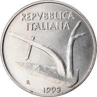 Monnaie, Italie, 10 Lire, 1993, Rome, TTB, Aluminium, KM:93 - 10 Lire