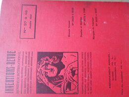 Revue Mensuel D'Horlogerie 1912 Relié, Nº 37-48  354 Pages. Watch, Uhren. La Chaux De Fonds, Suisse  Voir 9 Scan - Books, Magazines, Comics
