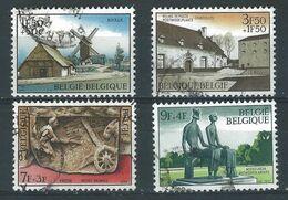 WW-/-740.-   SERIE COMPLETE -  N° 1532/35, Obl. , Cote 2.00 € , TB - REF. COB 2003 - IMAGE DU VERSO SUR DEMANDE - Belgium