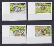 VIETNAM 2010, Mi# 3553-3556, Imperf, Animals, WWF, MNH - Colecciones & Series