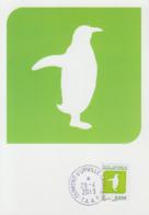 Carte  Maximum   T.A.A.F    Logo  Faune  Et  Transport   2013 - Covers & Documents