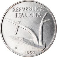 Monnaie, Italie, 10 Lire, 1993, Rome, TTB+, Aluminium, KM:93 - 10 Lire
