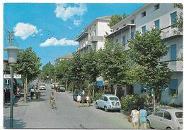 San Mauro Pascoli A Mare (Forlì-Cesena). Viale Marina Con Alberghi - Auto, Car, Voitures. - Forlì