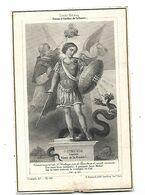 IMAGE PIEUSE..  ..Religieuse 50eme Anniversaire De Profession 14 Octobre 1894 Saint Michel - Andachtsbilder