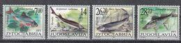 Jugoslawien 2002 - Mi.Nr. 3072 - 3075 - Postfrisch MNH - Tiere Animals Fische Fishes - Fische