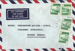 ! 1964 Airmail Letter From Irak, Iraq, Nach Schramberg, Zensur ? - Iraq