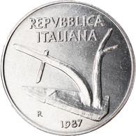 Monnaie, Italie, 10 Lire, 1987, Rome, SUP, Aluminium, KM:93 - 10 Lire