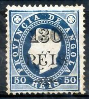 !■■■■■ds■■ Angola 1902 AF#57 (*) Surcharges 130/50 Type I 12,5 (x1105) - Angola