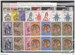VATICANO:  1963  ANNATA  COMPLETA  -  19  VAL. BL. 4  N. -  SASS. 356/74 - Full Years