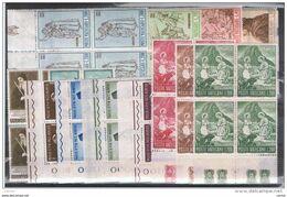 VATICANO:  1965  ANNATA  COMPLETA  -  19  VAL. BL. 4  N. -  SASS. 404/22 - Full Years