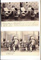 Theme Photographie / Lot De 2 CP / Stéréoscope / Enfants Le Découvrant, Et Démonstration - Photographs