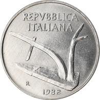 Monnaie, Italie, 10 Lire, 1982, Rome, SPL, Aluminium, KM:93 - 10 Lire