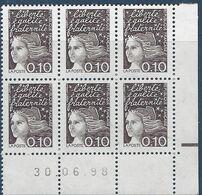 FRANCE 1998 CD 3086 COIN DATE 30 06 98  MARIANNE DU 14 JUILLET - 1990-1999