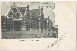 Ciney - Souvenir De Ciney - La Gare - 1902 - Ciney