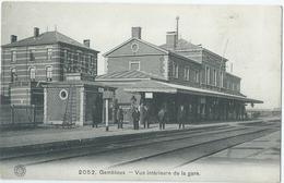 Gembloux - Vue Intérieure De La Gare - G. Hermans No 2052 - Gembloux
