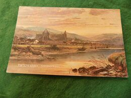VINTAGE UK WALES: MONS Tintern Abbey Art Colour B W Leader 1906 Hildesheimer - Monmouthshire