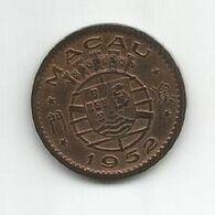 MACAU PORTUGAL 10 AVOS 1952 - Macao