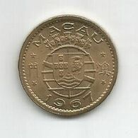 MACAU PORTUGAL 10 AVOS 1967 - Macao