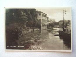 VENETO : TREVISO (TV) RIVIERA    FOTOGRAFICA  VIAGGIATA  ANNO 1945  MOLTO BELLA - Treviso