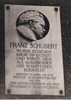 FRANZ SCHUBERT    LICHTENTHAL 18*13CM - Famous People