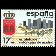 ESTATUTOS AUTONOM - AÑO 1984 - Nº EDIFIL 2742 - 1931-Aujourd'hui: II. République - ....Juan Carlos I