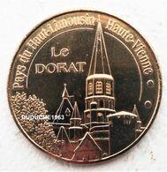 Monnaie De Paris 87.Le Dorat - Pays Du Haut Limousin 2010 - Monnaie De Paris