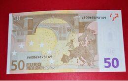 50 EURO M057 F5   SPAIN - ESPANHA - ESPAÑA M057F5 - V60065898169 - DRAGHI - UNC NEUF FDS - 50 Euro