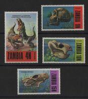 Zambie - N°93 à 96 - Faune - Prehistoire - Cote 8.50€ - * Neufs Avec Trace De Charniere - Zambie (1965-...)