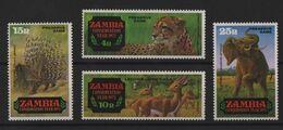 Zambie - N°77 à 80 - Faune - Cote 7€ - * Neufs Avec Trace De Charniere - Zambie (1965-...)
